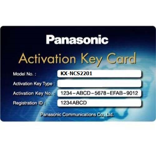 ActivationKey for Expansion GW-SIave Panasonic KX-NSXF007W