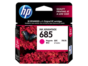 Mực in HP 685 Magenta Ink Cartridge (CZ123AA)