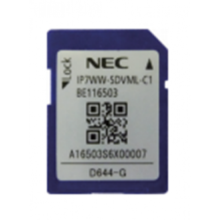 Card SD Card 4GB for InMail Storage NEC IP7WW-SDVML-C1